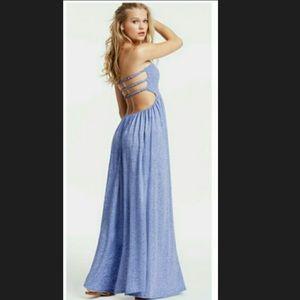 Victoria's Secret Maxi Dress Strappy Back